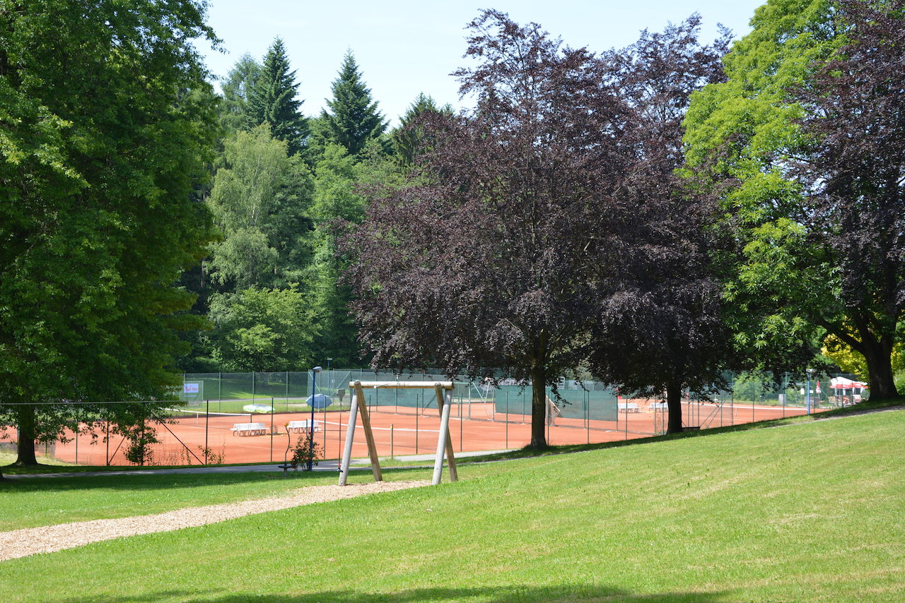 Tennis im Kurpark