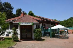 Eingang zur Tennisanlage Talstraße