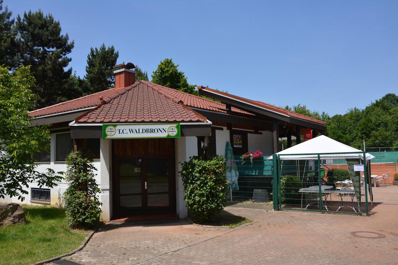 Eingang Tennisanlage Talstraße