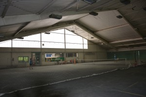 Tennishalle Platz 1